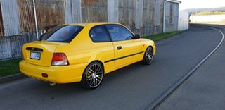 2002 Hyundai Accent LC GL Yellow 5 Speed Manual Hatchback
