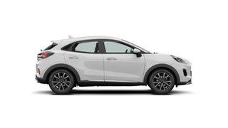 2021 Ford Puma JK 2021.25MY Puma Frozen White 7 Speed Sports Automatic Dual Clutch Wagon