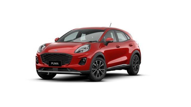 New Ford Puma JK 2021.25MY Puma Townsville, 2020 Ford Puma JK 2021.25MY Puma Fantastic Red 7 Speed Sports Automatic Dual Clutch Wagon
