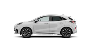 2020 Ford Puma JK 2021.25MY ST-Line V Frozen White 7 Speed Sports Automatic Dual Clutch Wagon.