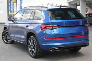 2020 Skoda Kodiaq NS MY20.5 RS DSG Blue 7 Speed Sports Automatic Dual Clutch Wagon.
