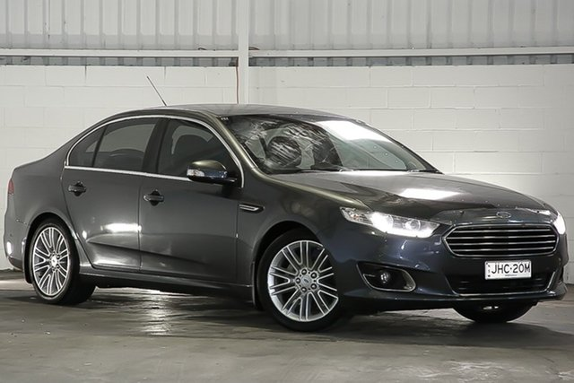 Used Ford Falcon FG X G6E, 2015 Ford Falcon FG X G6E Smoke 6 Speed Sports Automatic Sedan