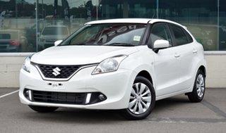 2020 Suzuki Baleno EW Series II GL White 5 Speed Manual Hatchback.