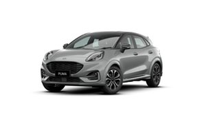 2020 Ford Puma JK 2020.75MY ST-Line DCT Silver 7 Speed Sports Automatic Dual Clutch Wagon.
