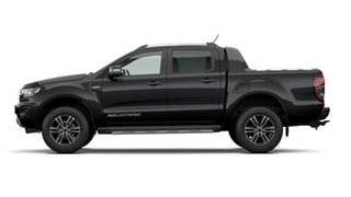 2020 Ford Ranger PX MKIII 2020.7 Wildtrak Shadow Black 10 Speed Automatic Double Cab Pick Up.