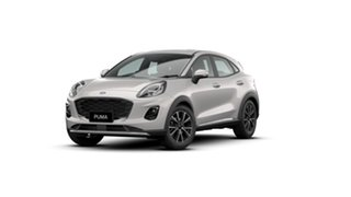 2020 Ford Puma JK 2020.75MY Puma Metropolis White 7 Speed Sports Automatic Dual Clutch Wagon.