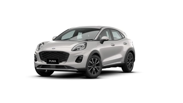New Ford Puma JK 2021.25MY Puma Townsville, 2020 Ford Puma JK 2021.25MY Puma Metropolis White 7 Speed Sports Automatic Dual Clutch Wagon