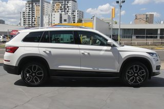 2019 Skoda Kodiaq NS MY20 132TSI DSG White 7 Speed Sports Automatic Dual Clutch Wagon