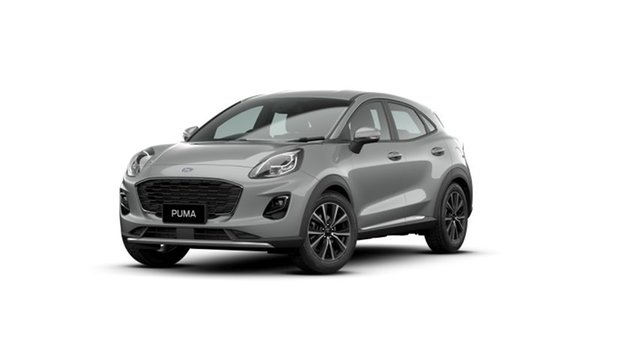 New Ford Puma JK 2021.25MY Puma Townsville, 2020 Ford Puma JK 2021.25MY Puma Solar Silver 7 Speed Sports Automatic Dual Clutch Wagon