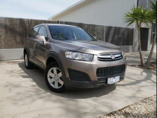 2014 Holden Captiva CG MY14 7 LS (FWD) Brown 6 Speed Automatic Wagon.