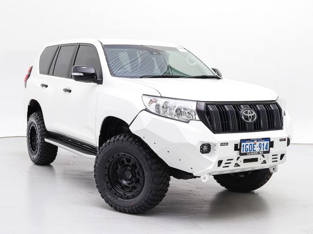 Used Toyota Landcruiser Prado GDJ150R MY18 GX (4x4), 2018 Toyota Landcruiser Prado GDJ150R MY18 GX (4x4) White 6 Speed Automatic Wagon
