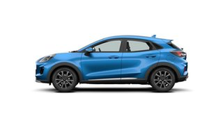 2021 Ford Puma JK 2021.25MY Puma Desert Island Blue 7 Speed Sports Automatic Dual Clutch Wagon.