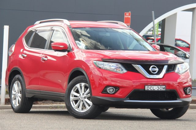 Used Nissan X-Trail T32 ST-L X-tronic 4WD, 2015 Nissan X-Trail T32 ST-L X-tronic 4WD Red 7 Speed Constant Variable Wagon
