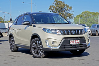 2019 Suzuki Vitara LY Series II Turbo 2WD Ivory & Black 6 Speed Sports Automatic Wagon.
