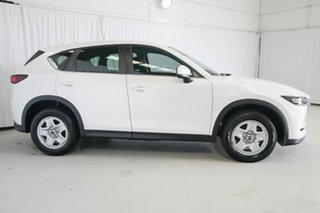 2017 Mazda CX-5 KE1072 Maxx SKYACTIV-Drive FWD White 6 Speed Sports Automatic Wagon.