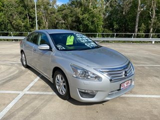 2014 Nissan Altima L33 ST Silver Continuous Variable Sedan.