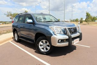 2011 Toyota Landcruiser Prado KDJ150R GXL Blue Storm 5 Speed Automatic Wagon.