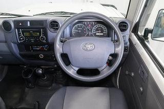2017 Toyota Landcruiser VDJ76R Workmate White 5 Speed Manual Wagon