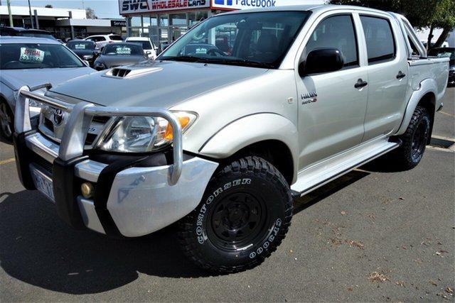 Used Toyota Hilux KUN26R MY05 SR, 2005 Toyota Hilux KUN26R MY05 SR Gold 4 Speed Automatic Utility