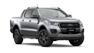 2020 Ford Ranger PX MkIII 2020.75MY Wildtrak Aluminium Silver 10 Speed Sports Automatic