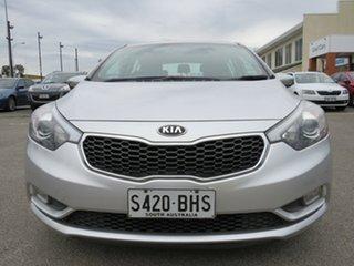 2014 Kia Cerato YD MY15 SI White 6 Speed Sports Automatic Hatchback.