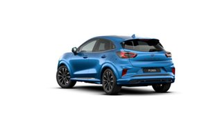 2020 Ford Puma JK 2021.25MY ST-Line V Desert Island Blue 7 Speed Sports Automatic Dual Clutch Wagon