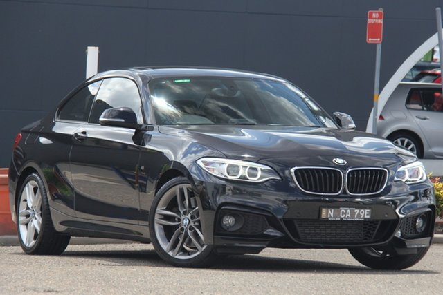 Used BMW 2 Series F22 228i M Sport, 2014 BMW 2 Series F22 228i M Sport Black 8 Speed Sports Automatic Coupe