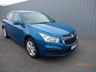 2015 Holden Cruze JH MY15 Equipe Blue 6 Speed Automatic Sedan.