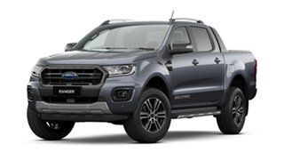 2020 Ford Ranger PX MkIII 2020.75MY Wildtrak Meteor Grey 10 Speed Automatic Double Cab Pick Up.