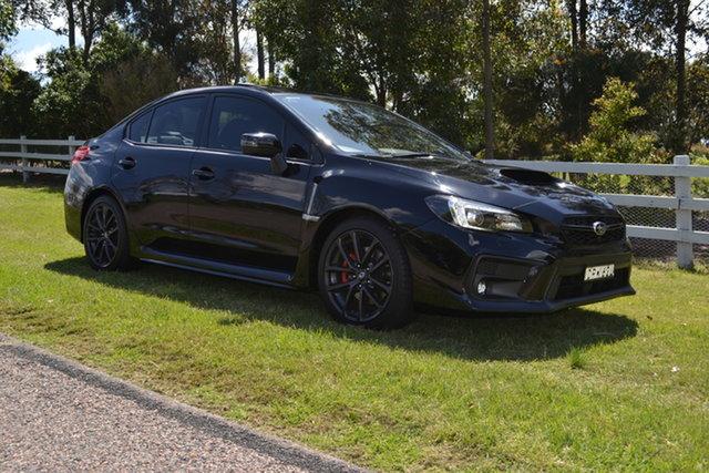 Used Subaru WRX V1 MY17 Premium AWD, 2017 Subaru WRX V1 MY17 Premium AWD Black 6 Speed Manual Sedan
