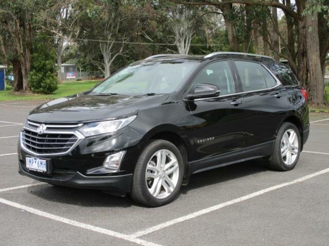 Used Holden Equinox Timboon, 2018 Holden Equinox LTZ-V Black Automatic Wagon