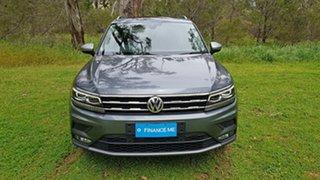 2019 Volkswagen Tiguan 5N MY20 132TSI Comfortline DSG 4MOTION Allspace Grey 7 Speed.