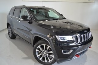 2018 Jeep Grand Cherokee WK MY18 Limited Black 8 Speed Sports Automatic Wagon.