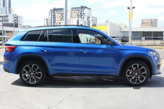 2020 Skoda Kodiaq NS MY20.5 RS DSG Blue 7 Speed Sports Automatic Dual Clutch Wagon