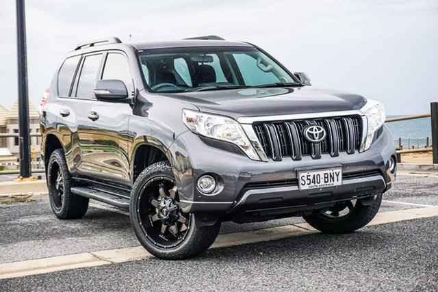 Used Toyota Landcruiser Prado GDJ150R GXL Christies Beach, 2017 Toyota Landcruiser Prado GDJ150R GXL Grey 6 Speed Sports Automatic Wagon