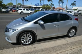2013 Honda Civic Series 2 VTi Silver 5 Speed Automatic Sedan.
