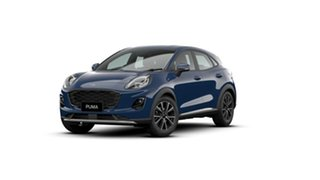 2020 Ford Puma JK 2020.75MY Puma Blazer Blue 7 Speed Sports Automatic Dual Clutch Wagon.
