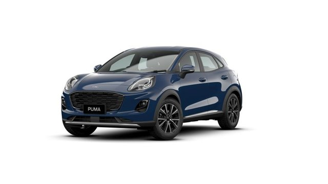 New Ford Puma JK 2020.75MY Puma Townsville, 2020 Ford Puma JK 2020.75MY Puma Blazer Blue 7 Speed Sports Automatic Dual Clutch Wagon