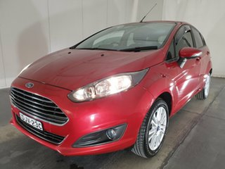 2016 Ford Fiesta WZ Trend PwrShift Red 6 Speed Sports Automatic Dual Clutch Hatchback.