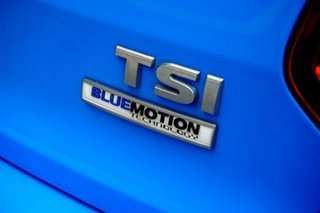 2014 Volkswagen Polo 6R MY15 81TSI DSG Comfortline Blue 7 Speed Sports Automatic Dual Clutch