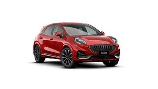 2020 Ford Puma JK 2021.25MY ST-Line V Fantastic Red 7 Speed Sports Automatic Dual Clutch Wagon