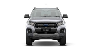 2020 Ford Ranger PX MkIII 2020.75MY Wildtrak Aluminium Silver 10 Speed Sports Automatic.