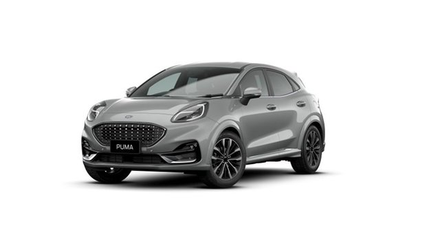 New Ford Puma JK 2021.25MY ST-Line V Rutherford, 2021 Ford Puma JK 2021.25MY ST-Line V Solar Silver 7 Speed Sports Automatic Dual Clutch Wagon