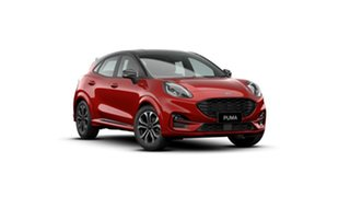 2020 Ford Puma JK 2020.75MY ST-Line Red 7 Speed Sports Automatic Dual Clutch Wagon