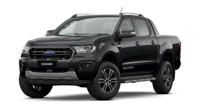 New Ford Ranger PX MkIII 2020.75MY Wildtrak Kingswood, 2020 Ford Ranger PX MkIII 2020.75MY Wildtrak Shadow Black 10 Speed Sports Automatic