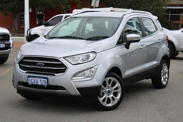 Used Ford Ecosport BL 2019.25MY Titanium, 2019 Ford Ecosport BL 2019.25MY Titanium Silver 6 Speed Automatic Wagon