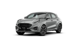 2021 Ford Puma JK 2021.25MY ST-Line Solar Silver 7 Speed Sports Automatic Dual Clutch Wagon.