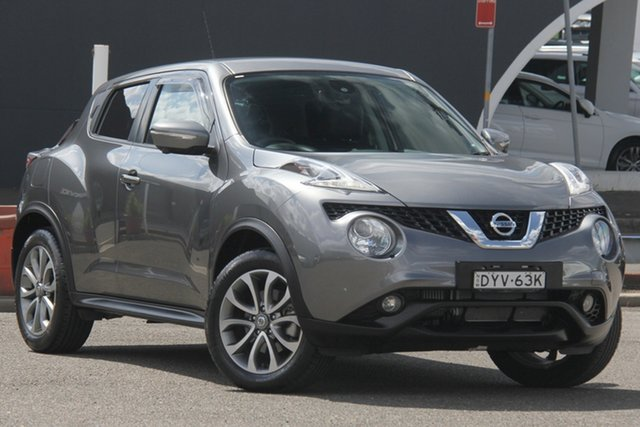 Used Nissan Juke F15 MY18 Ti-S X-tronic AWD, 2018 Nissan Juke F15 MY18 Ti-S X-tronic AWD Grey 1 Speed Constant Variable Hatchback