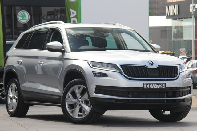 Used Skoda Kodiaq NS MY20 132TSI DSG, 2019 Skoda Kodiaq NS MY20 132TSI DSG Silver 7 Speed Sports Automatic Dual Clutch Wagon