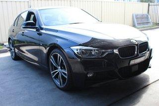 2017 BMW 3 Series F30 LCI 320d M Sport Black Sapphire 8 Speed Sports Automatic Sedan.